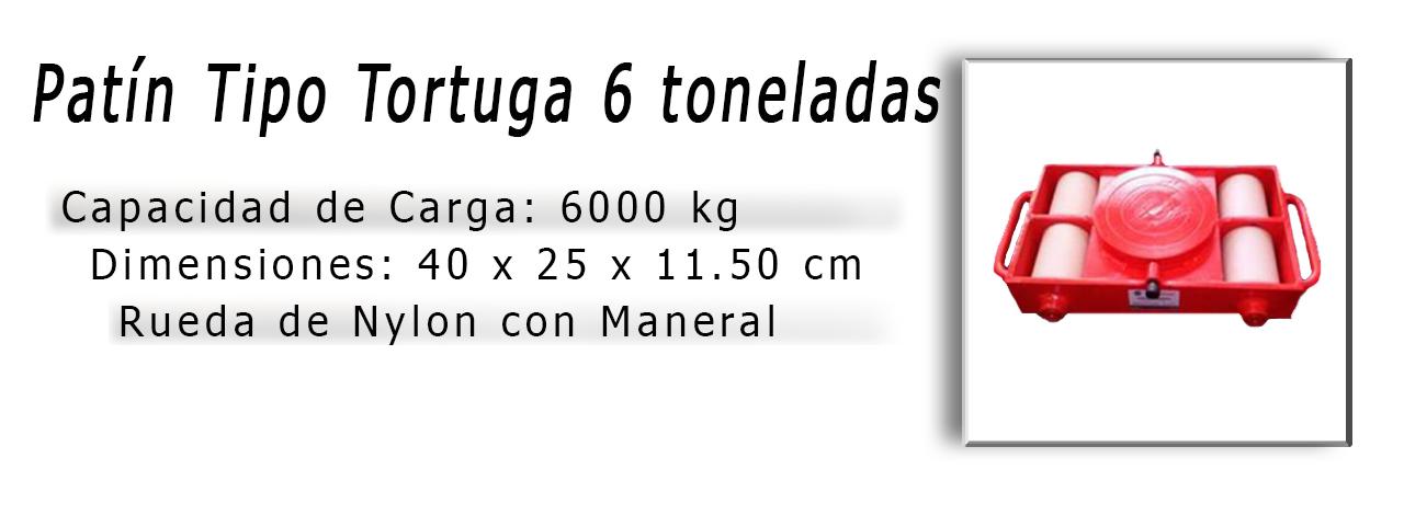 6patin 6 tons